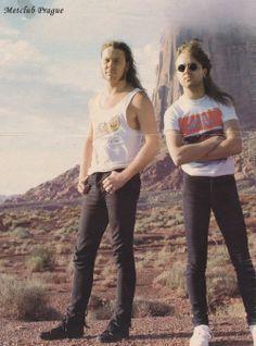 James Hetfield - Lars Ulrich