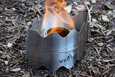 Vertex Backpacking Stove - It weighs just 1.8 ounces and folds down flat so it takes up as little room as a map. Made from tempered stainless steel, it provides a sturdy platform for your lightweight cookware, and since it's designed to work with both solid fuel tablets and the popular Trangia Spirit alcohol burner, finding fuel should never be hard. $50