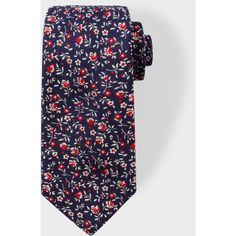 Paul Smith Men's Navy Floral Embroidery Narrow Silk Tie (1,865 MXN) ❤ liked on Polyvore featuring men's fashion, men's accessories, men's neckwear, ties, mens navy tie, mens ties and mens silk ties