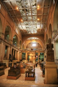 The Egyptian museum, Cairo, Egypt - this picture transports me there. I have been personally here in 2008. Still wonder how this photo has been taken, as the Camera & Mobil were to be deposited outside.