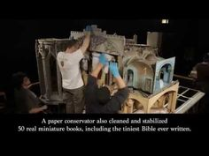 From the very first time I saw this gorgeous Fairy Castle at the tender age of 8, I fell in love. That love endures and this time-lapse video is amazing and makes me long to revisit that beloved museum again! ~ La   Watch a Time-Lapse of an $8 Million Dollhouse Being Put Back Together   Mental Floss