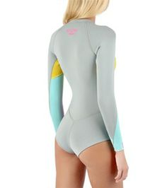 Billabong Women's Surf Capsule 2 MM L/S Cheeky Spring Suit at SurfOutlet.com - Free Shipping