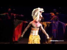 A emoção do musical 'O Rei Leão' - YouTube