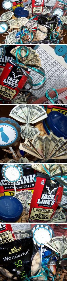 Man Snacks Money | 20+ DIY Christmas Gifts for Men | Easy Holiday Gift Ideas for Him