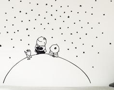 Stars wallstickers for kidsroom