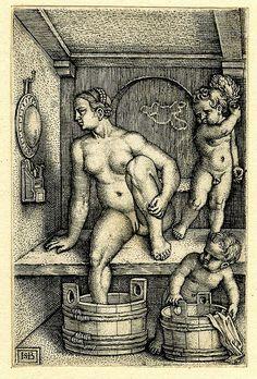 Engraving made by Sebald Beham, After Barthel Beham, Germany, 1530-1550.