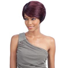 FREETRESS EQUAL SYNTHETIC WIG GREEN CAP 005
