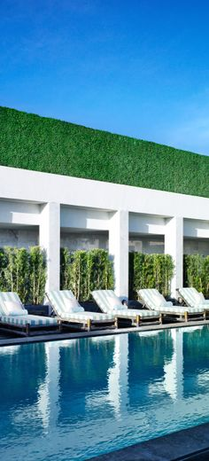 Viceroy's two-acre outdoor living room features the longest pool in Florida.