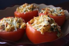 Laurens Kitchen: Cheesy Stuffed Tomatoes