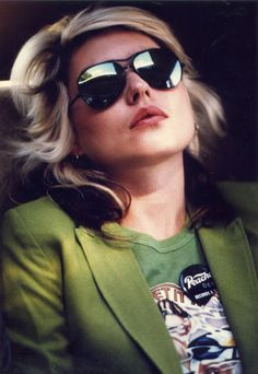 Debbie Harry in a Licorice Pizza shirt