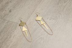 Boucles d'oreilles ethnique geometric Vintage et par myPoetictouch, €10.00