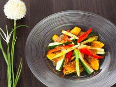 焼き野菜サラダのしょうゆ合わせ米麹ドレッシング