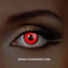 Get glowing red eyes with these  uv Glow Red Contact Lenses . The blood red colour looks amazing and really stands out. These lenses completely cover your natural eye colour and glow brightly under UV light. These lenses are a complete red block with no other colors.   Discover amazing glowing eyes with  UV Glow Contact Lenses . They glow under UV light and look great in normal light too. i-Glow contact lenses are light, soft and comfortable to wear. Their 38% water content ensures that…