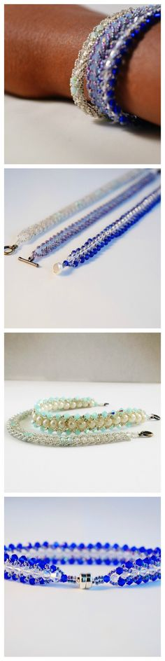 If you've never beaded but love to try new things, love to wear pretty things or love to stack dainty bracelets this tutorial is for YOU!