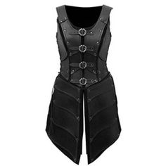 LARP Women Elven Warrior Armour ❤ liked on Polyvore featuring armor, outerwear and warrior