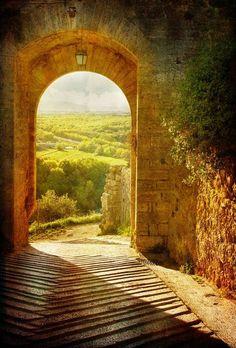 """bonitavista: """" Tuscany, Italy photo via franka """""""