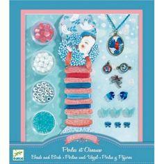 Djeco Pearls & Birds Jewelry Making Set. Jewelry Making Kits, Jewelry Kits, Make Your Own Jewelry, Bird Jewelry, Beaded Jewelry, Jewellery Making, Art Stuff For Kids, Kid Stuff, Butterfly Kids