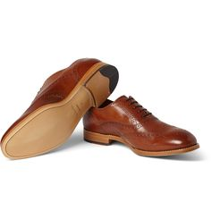 Paul Smith Shoes & Accessories - Cristo Leather Oxford Brogues | MR PORTER
