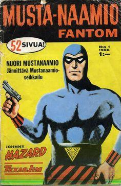 Mustanaamio 1 1966 Kansi: Rolf Gohs