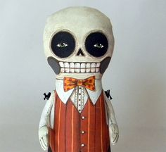 Skeleton Day of the Dead Doll by Cart Before the Horse  $90.00