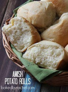 Amish Potato Rolls Source: bakedbyrachel