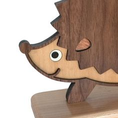 Woodland Hedgehog Forest Animal Bookend 1 by graphicspaceswood, $80.00