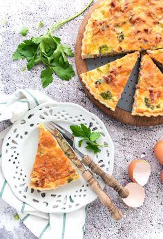 I Love Food, Good Food, Yummy Food, Food Porn, Dutch Recipes, Quiche Lorraine, I Foods, Pasta Recipes, Vegetable Pizza