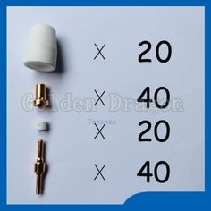 37.82$  Watch here - http://ai3kc.worlditems.win/all/product.php?id=32412998382 - Super high cost plasma cutting tips kit Welding Torch TIPS KIT Praise Suitable for Cut40 50D CT312 ,100pcs