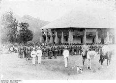 German Kamerun 1894 Schutztruppe Company