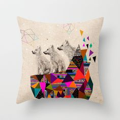 The Night Playground by Peter Striffolino and Kris Tate Throw Pillow by Kris Tate - $20.00 plus $10 shipping so $30 16 x 16 inches no insert