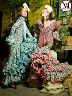 Diseños de Raquel Teran #ModaAndaluza