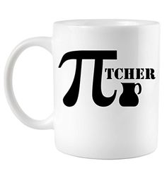 Pitcher Pi Day 3.14 Funny Coffee Mug