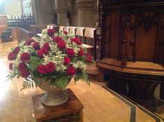 Roses dedicated to Chuck Mitchell