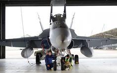 Boeing F/A-18A Hornet of RAAF.
