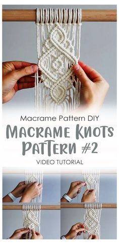 Macrame Design, Macrame Art, Macrame Projects, Macrame Knots, Micro Macrame, Macrame Jewelry, Macrame Plant Hanger Patterns, Macrame Wall Hanging Patterns, Large Macrame Wall Hanging