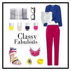 """""""Classy & Fabulous"""" by michaeladay on Polyvore featuring Christian Louboutin, MANGO, Sportmax Code, Chicwish, Mariah Rovery, Gucci, Alexa Starr, Khirma Eliazov and Nails Inc."""