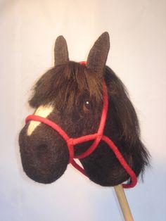 """Steckenpferde - Steckenpferd ,,Araber"""" - ein Designerstück von Stubenfenster bei DaWanda Hobby Horse, Puppets, Felting, Sisters, Horses, Toys, Bag, Projects, Crafting"""