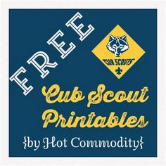 cub scouts Hot Commodity Home Decor: Free Cub Scout Printables Scout Louveteaux, Cub Scout Law, Cub Scouts Wolf, Tiger Scouts, Scout Mom, Eagle Scout, Girl Scouts, Cub Scout Motto, Cub Scout Crafts