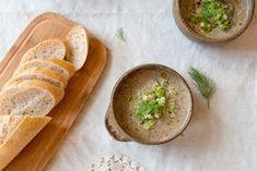 WILD MUSHROOM SOUP + Fennel Salsa