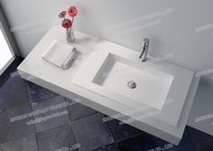 9029-Single Sink Artificial Stone Composite Resin Table Top Handmade Wash Sink-JINGZUN.jpg Finish :matt or gloss Color: white/black/red/others Website: http://jingzun-bath.en.made-in-china.com
