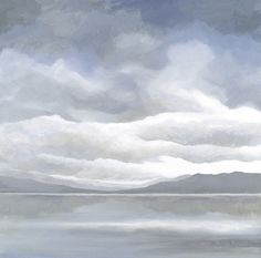 Loch Ness at dusk Dusk, Clouds, Paintings, Outdoor, Outdoors, Paint, Painting Art, Outdoor Games, Draw