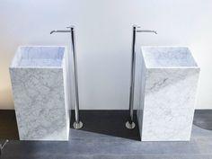 Lavabo di marmo