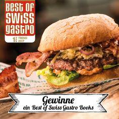 Hol dir die besten Ausgehtipps von den Profis! Wir verlosen 8 exklusive Best of Swiss Gastro Books.  Melde dich unter nachfolgendem Link gleich an. Viel Glück! #healthyasf