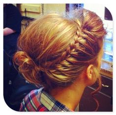 like the braid in this one wrapped into the back.