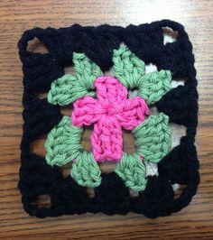 Ravelry: Cross in the Middle Granny Square pattern by Sarah Wood