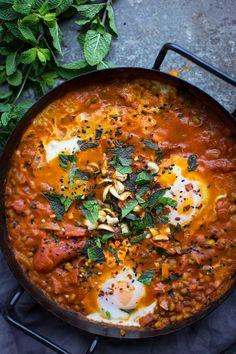 Mungo fazole s vejci Garam Masala, Foodies, Favorite Recipes, Ethnic Recipes, Image