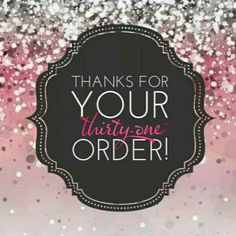 Order thank you