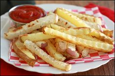 LOOK! It's Hungry Girl's Edible Idol FRENCH FRIES!  Pin away, PEOPLE!