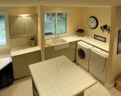 Home Decor Traditional Laundry-room. ランドリールームのインテリアコーディネイト実例