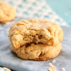 Coconut Oatmeal Cookies - Eat. Drink. Love.